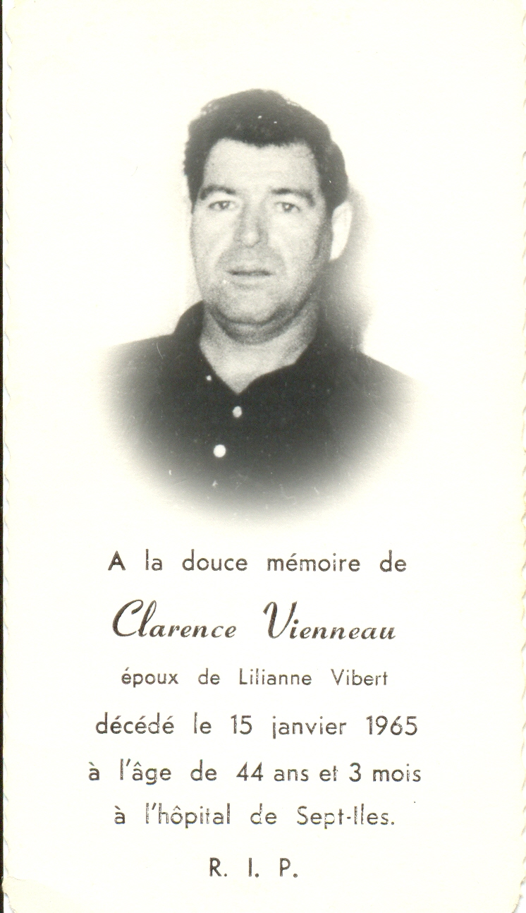 Clarence Vienneau 1921-1965