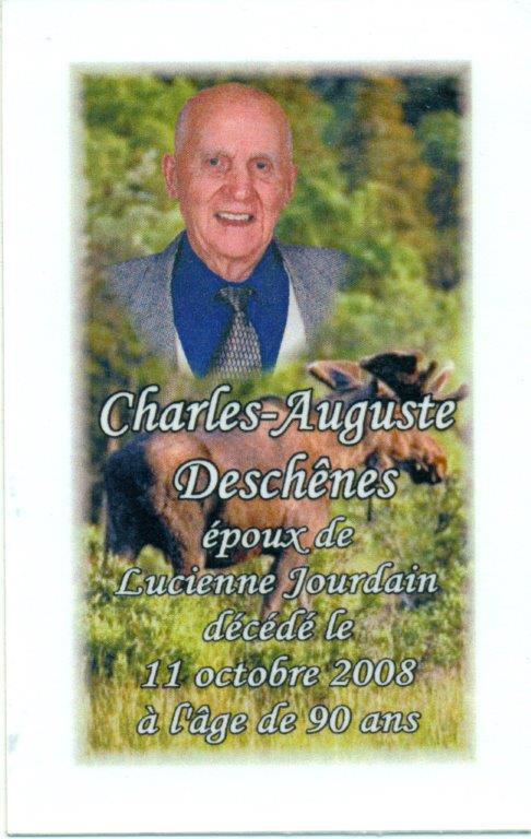 Charles Auguste Déchênes 1918-2008