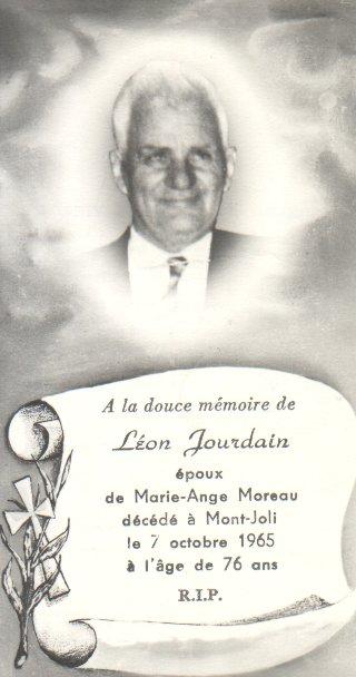 Léon Jourdain 1889-1965