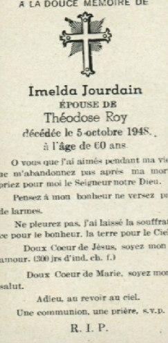 Imelda Jourdain 1888-1948