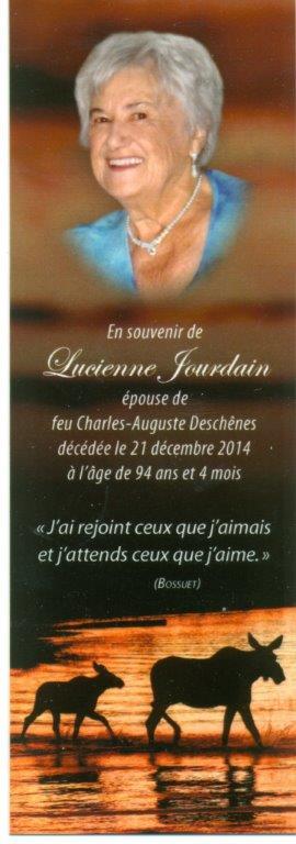 Lucienne Jourdain 1920-2014