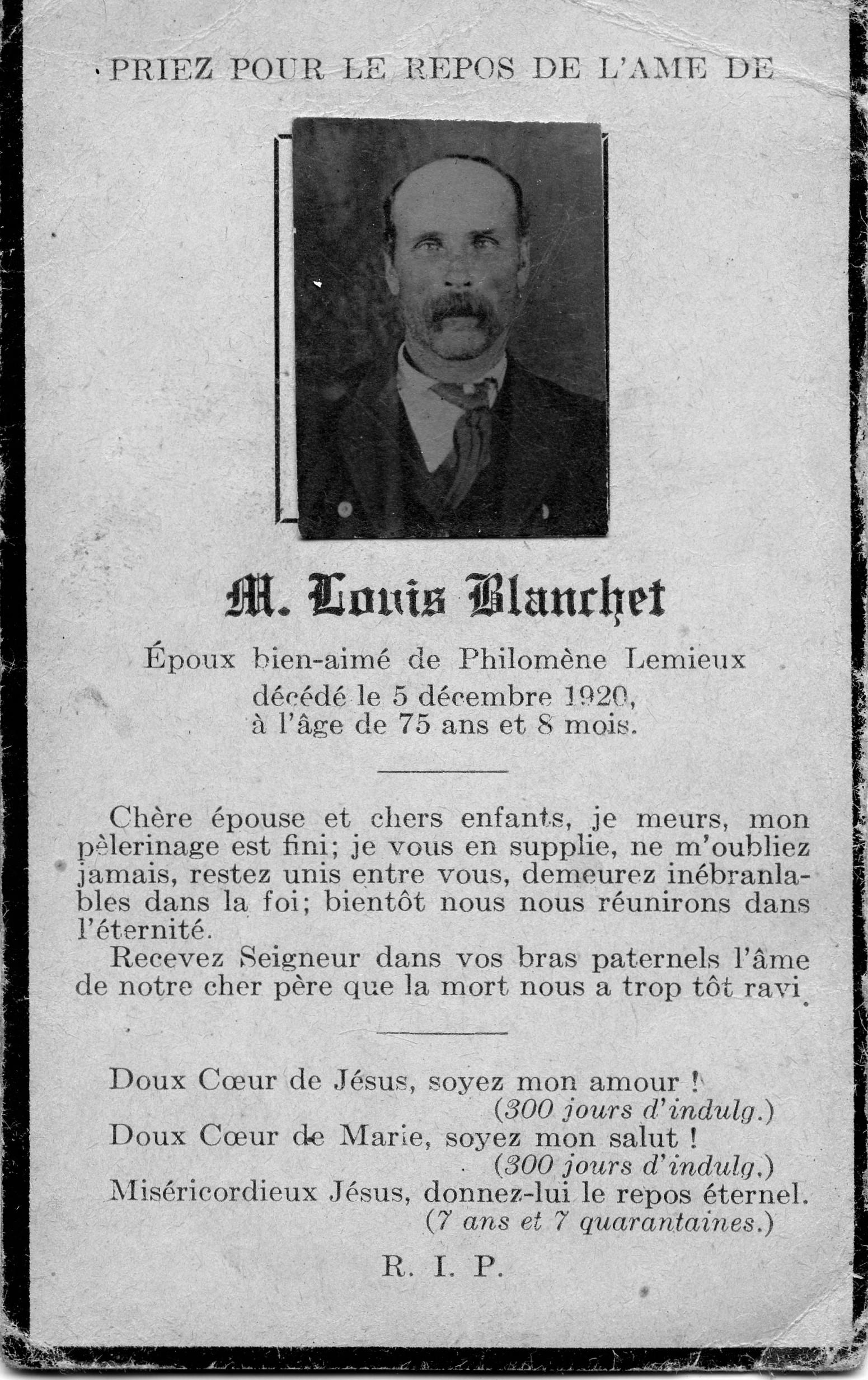 Louis Blanchet 1845-1920