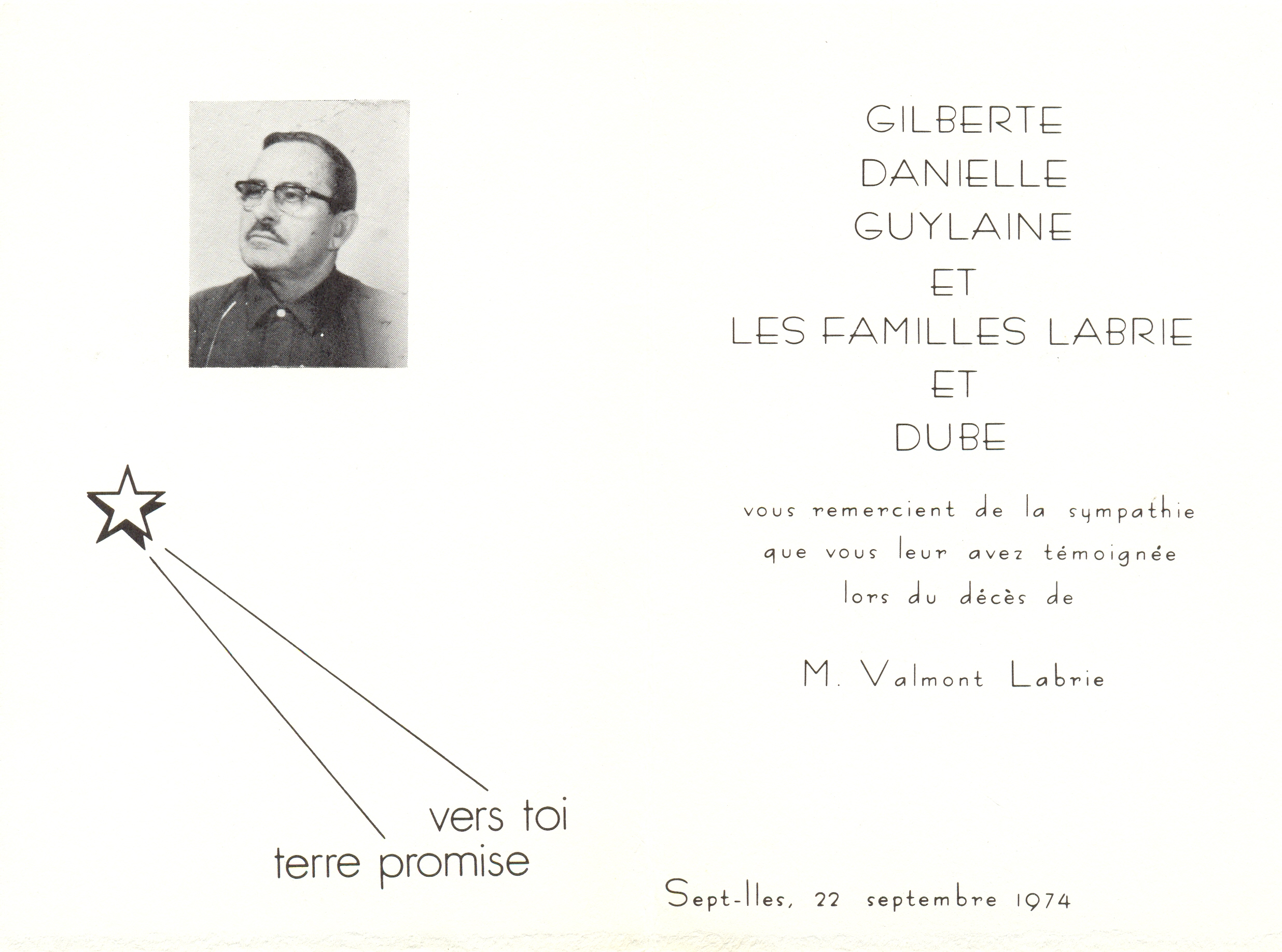 Valmont Labrie 1918-1974