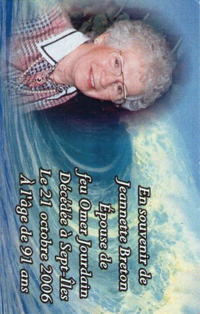 Jeannette Breton 1915-2006