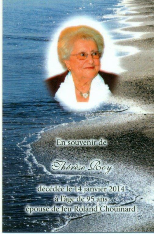 Thérèse Roy 1919-2014