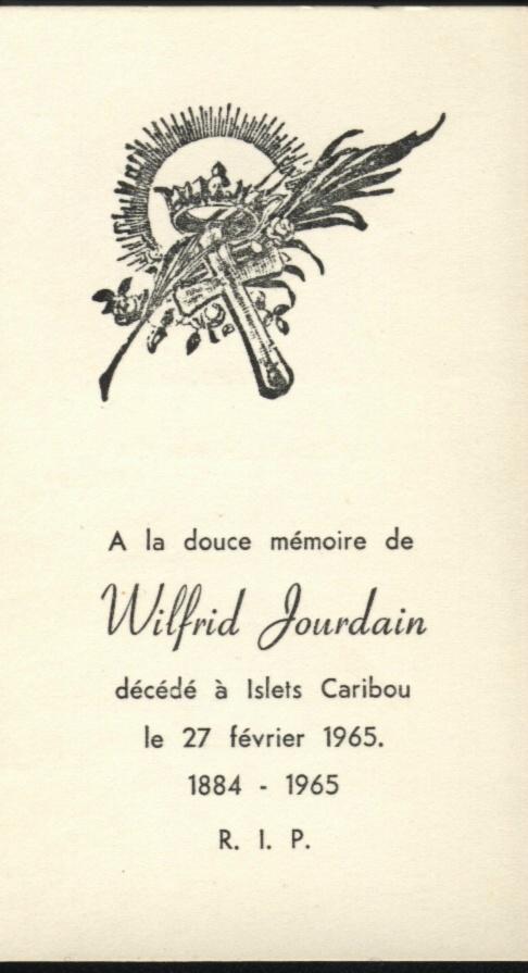 Wilfrid Jourdain 1884-1965