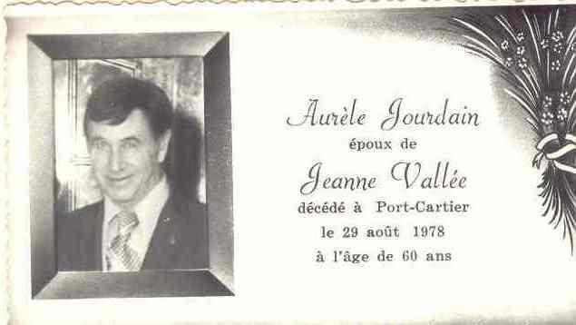 Aurèle Jourdain 1918-1978