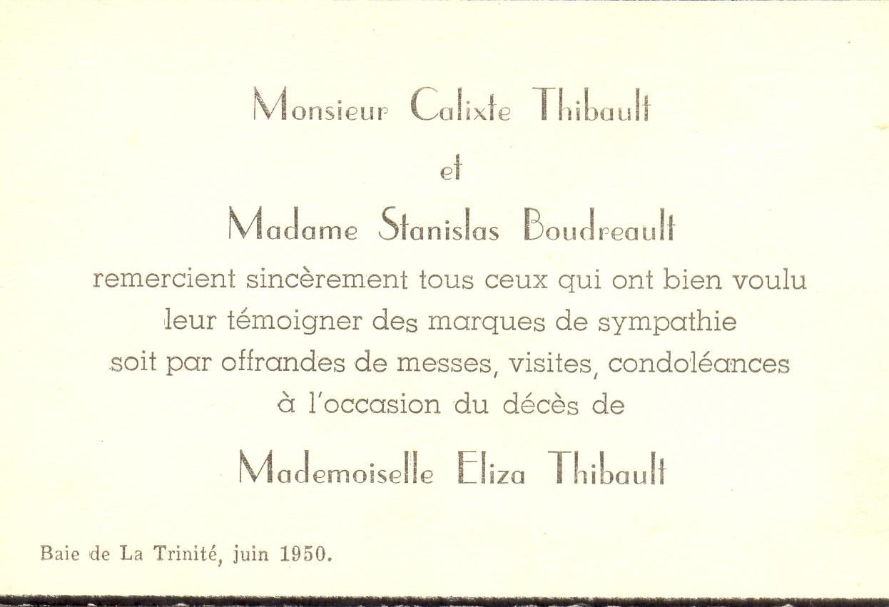 Eliza Thibeault