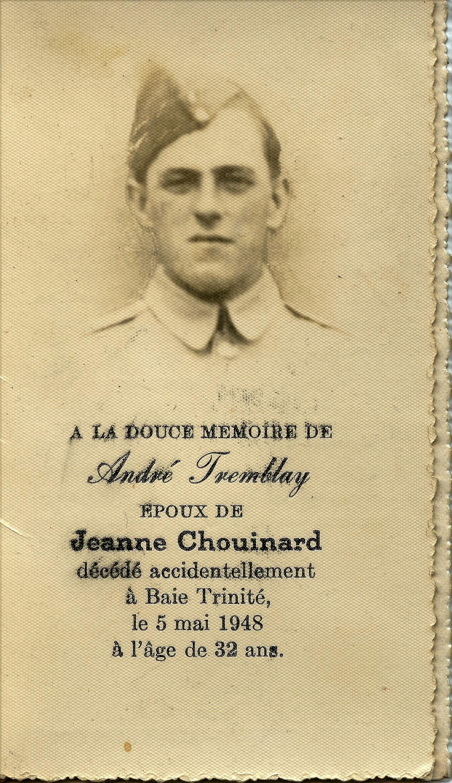 André Tremblay 1916-1948
