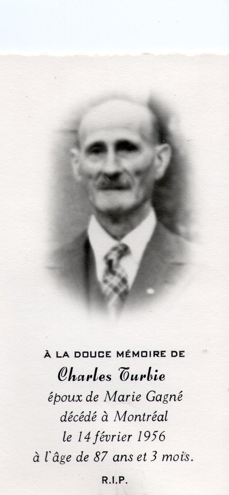 Charles Turbis 1869-1956