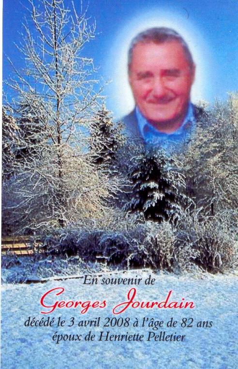 Georges Jourdain 1926-2008