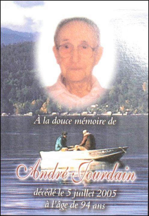 André Jourdain 1911-2005