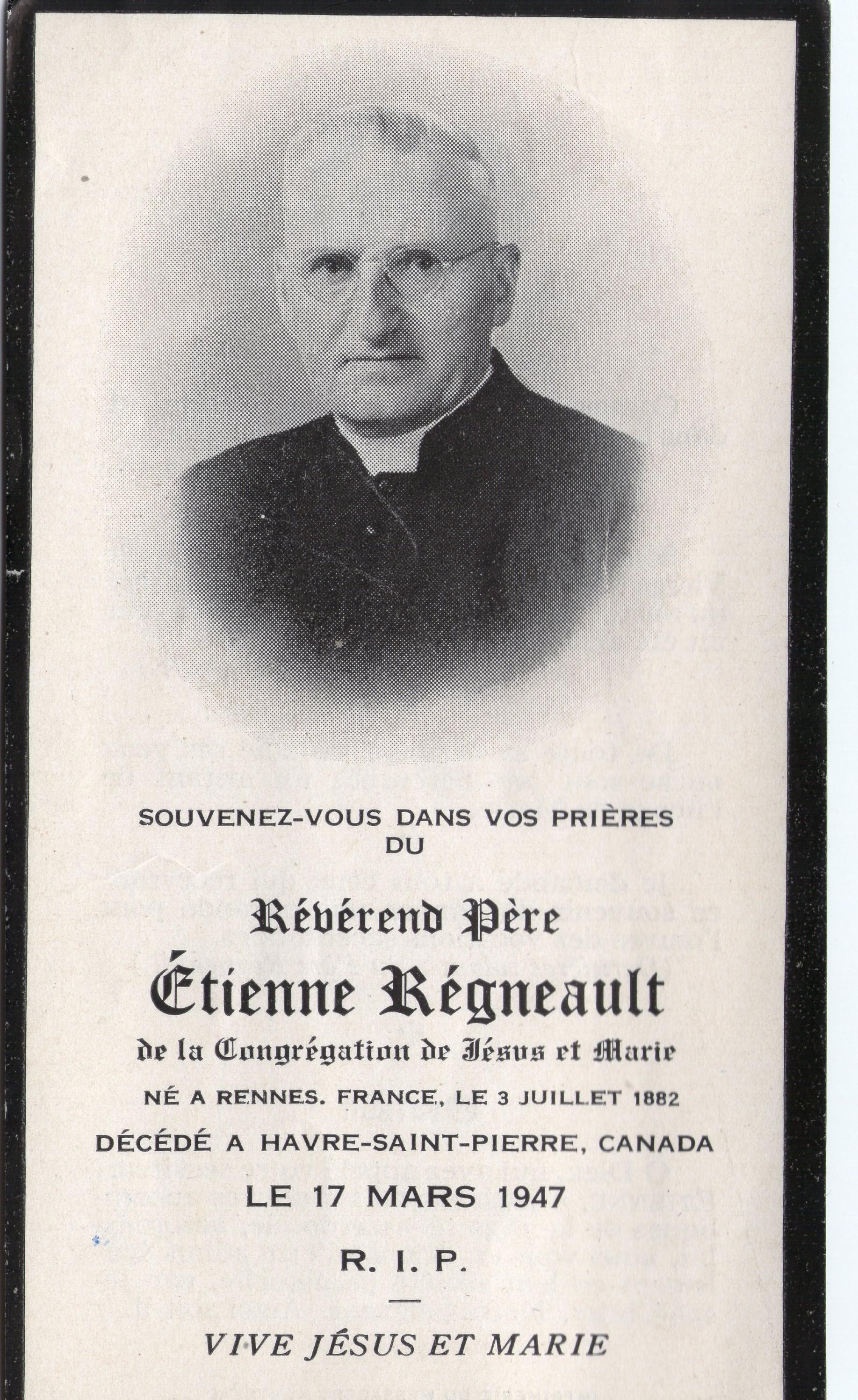 Étienne Régnault 1882-1947