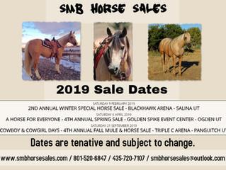 2019 Sale Dates