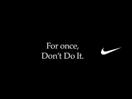 Don't stumble like Starbucks, be like Nike!