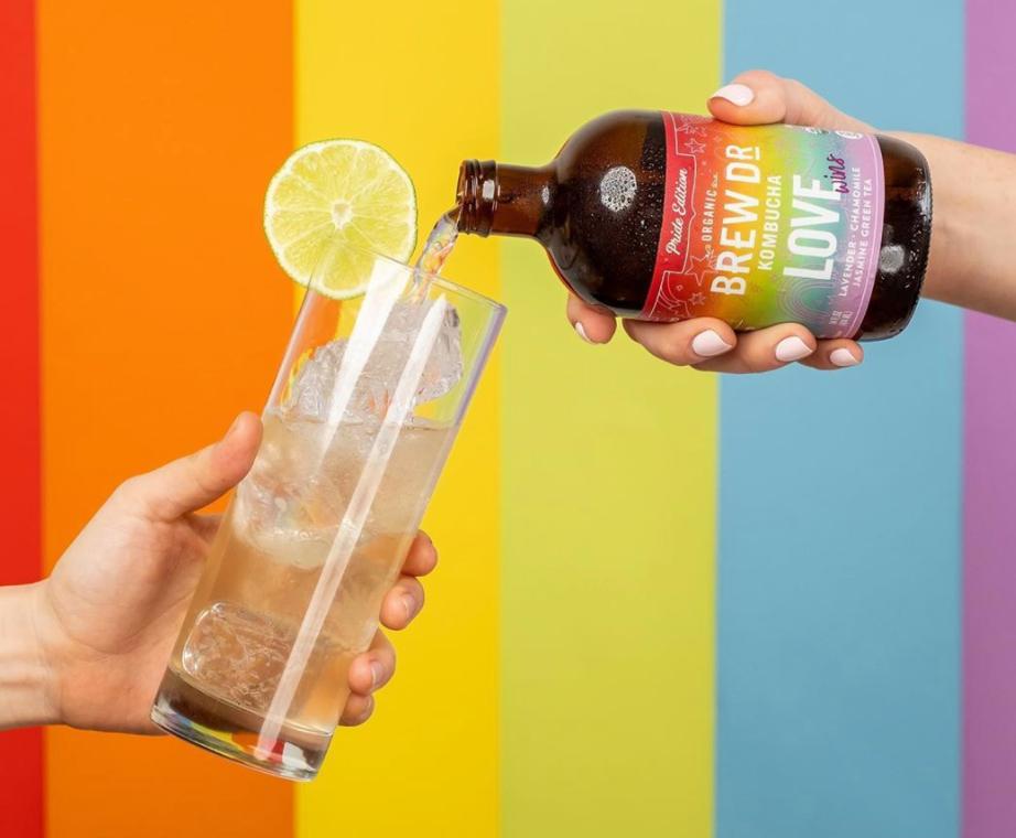 Brand Purpose Kombucha Pride 2020