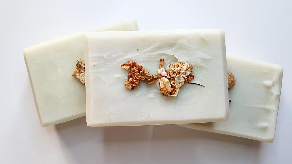 Jasmine & Bergamot Beeswax Soap