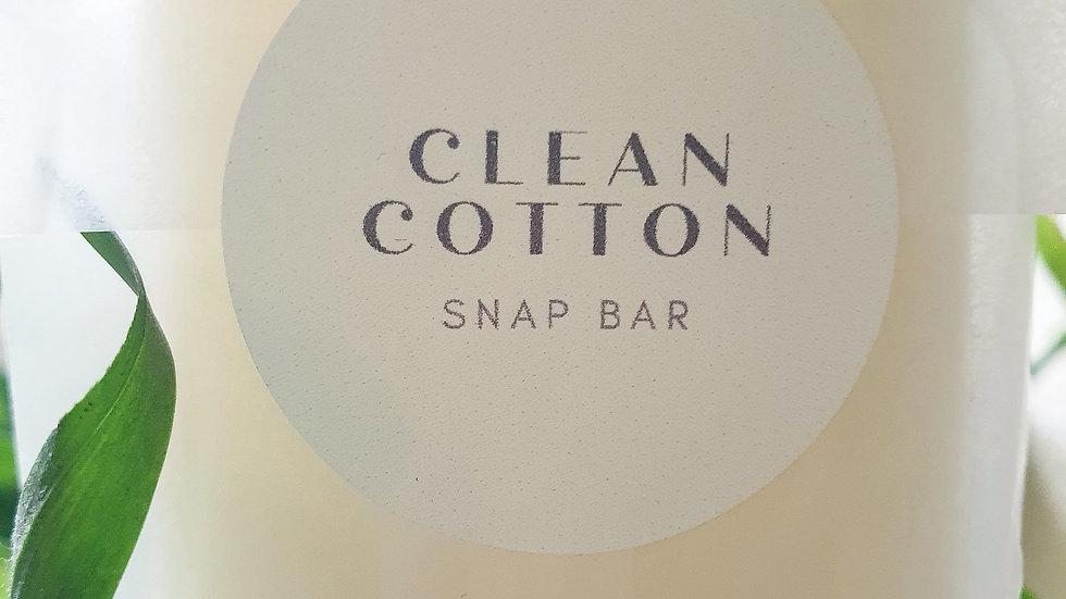 Clean Cotton Snap Bar