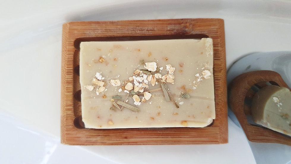 Lemongrass & Eucalyptus Beeswax Soap
