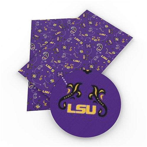 LSU Embroidery Vinyl
