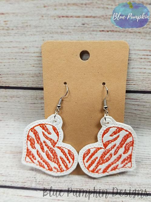 Tiger Stripes Earrings