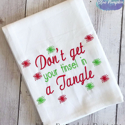 Don't get your tinsel in a tangle Design