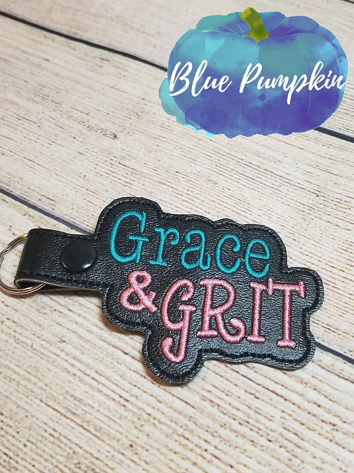 Grace and Grit Key Fob