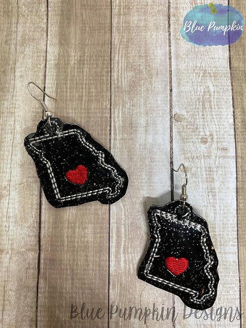 Missouri State Earrings