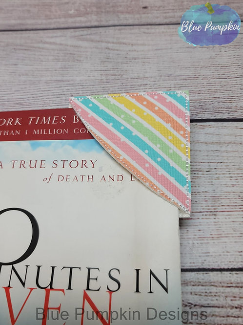Curved Blank Corner ITH Bookmark