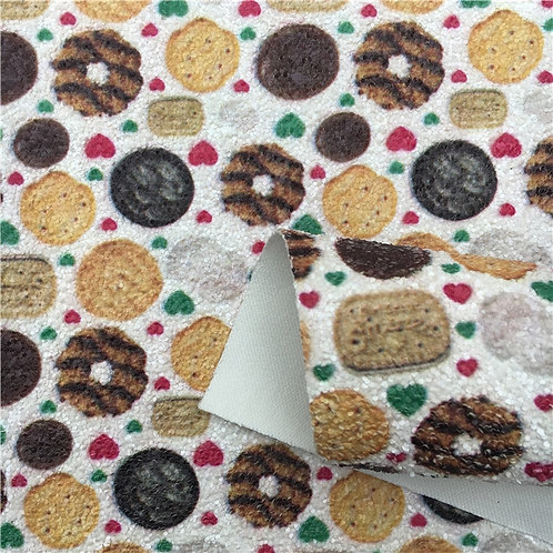 Chunky Glitter Cookies Embroidery Vinyl
