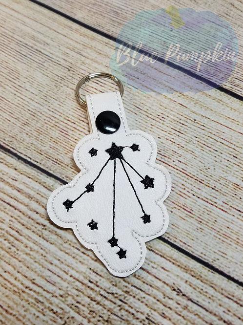 Libra Constellation  Key Fob