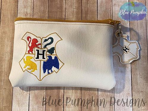 Wizard Crest ITH Bag Design