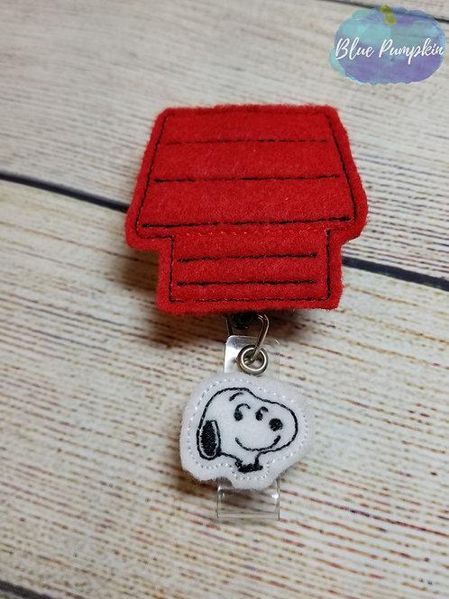 Noopy Badge Reel Feltie Design
