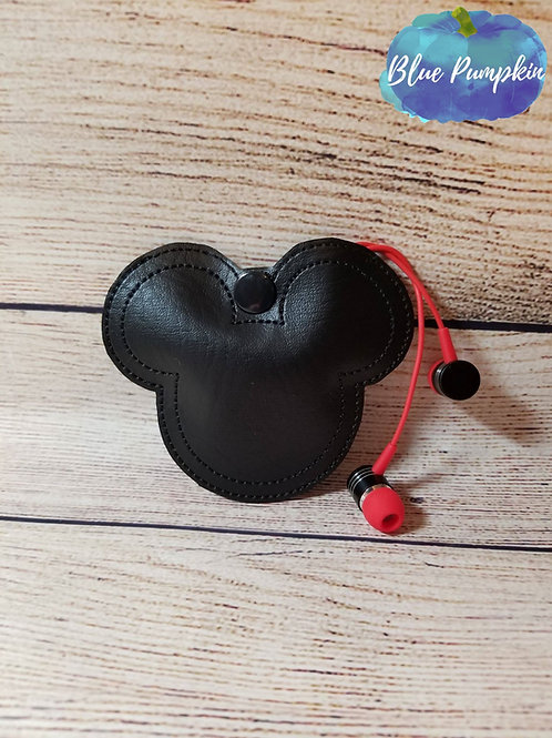 Mouse Head Earbud Holder