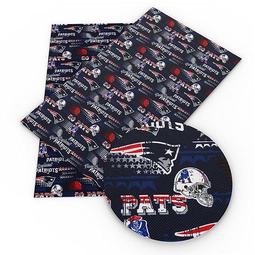 Pats Fan Embroidery Vinyl