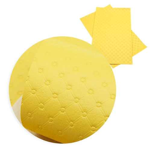Yellow Tufted Embroidery Vinyl