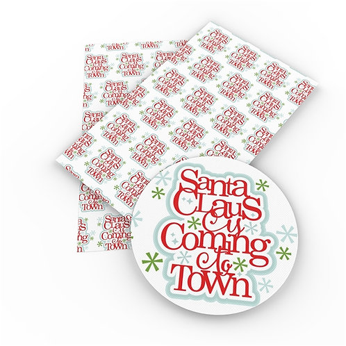 Coming to Town Embroidery Vinyl