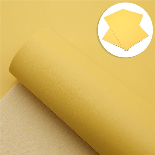 Smooth Yellow Embroidery Vinyl
