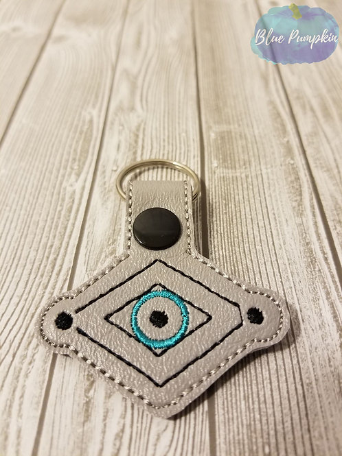 All Knowing Eye Key Fob
