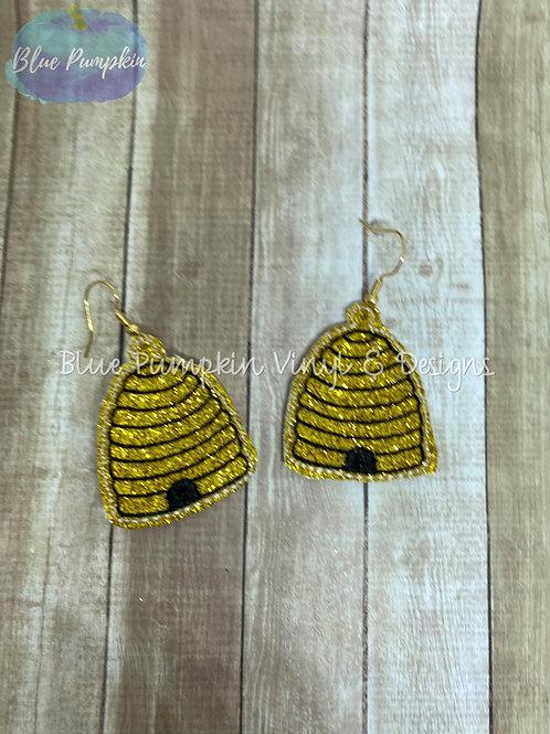 Bee Hive Earrings