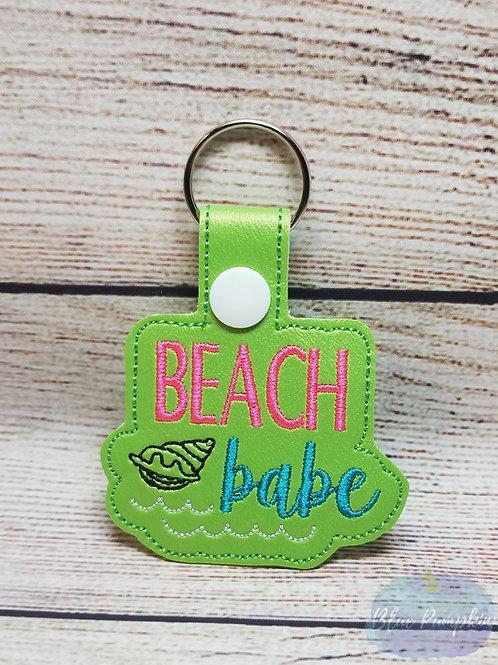 Beach Babe Key Fob
