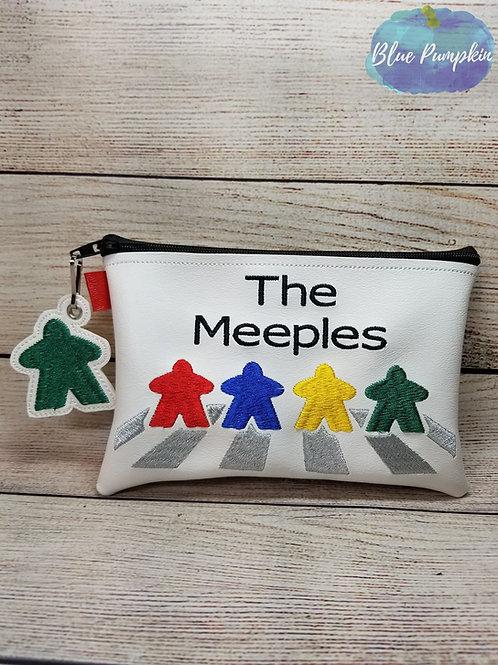 The Meeples ITH Zipper Bag Design