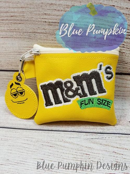 Fun Size ITH Zipper Bag Design