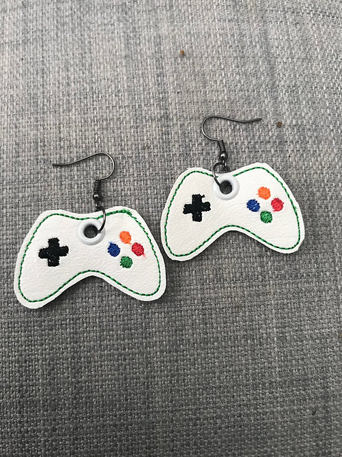 Game Controller ITH Earring Design
