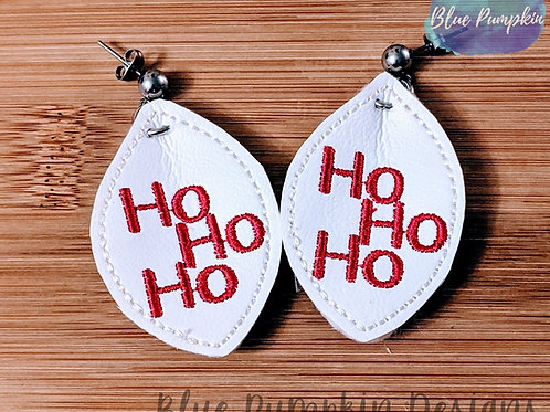 Ho Ho Ho Oval Earrings