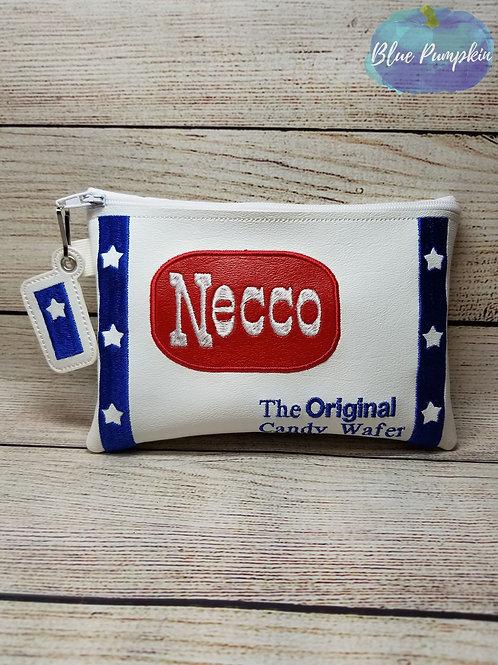 Necco ITH Zipper Bag Design