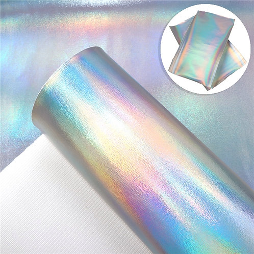 Iridescent Silver Embroidery Vinyl
