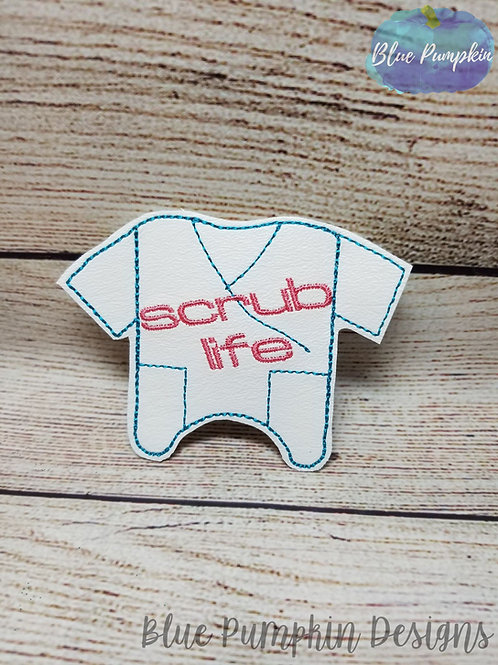 Scrub Life Hand Sani Holder Badge Reel Holder
