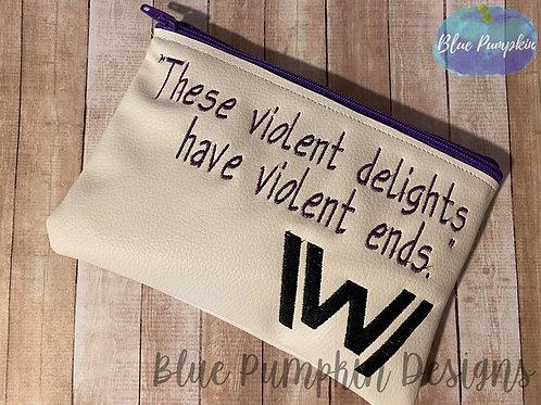 Violent Delights ITH Bag Design