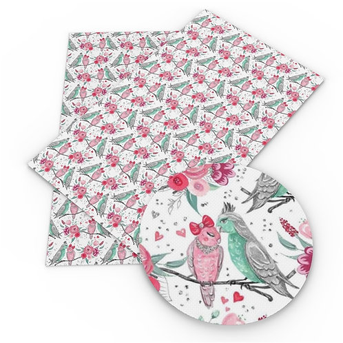 Love Birds Embroidery Vinyl